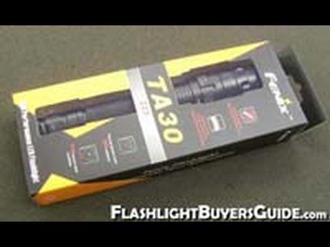 Fenix TA30 flashlight review