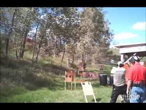 Appanoose County Shooting Club 3-gun match 09/21/14 Stage 4