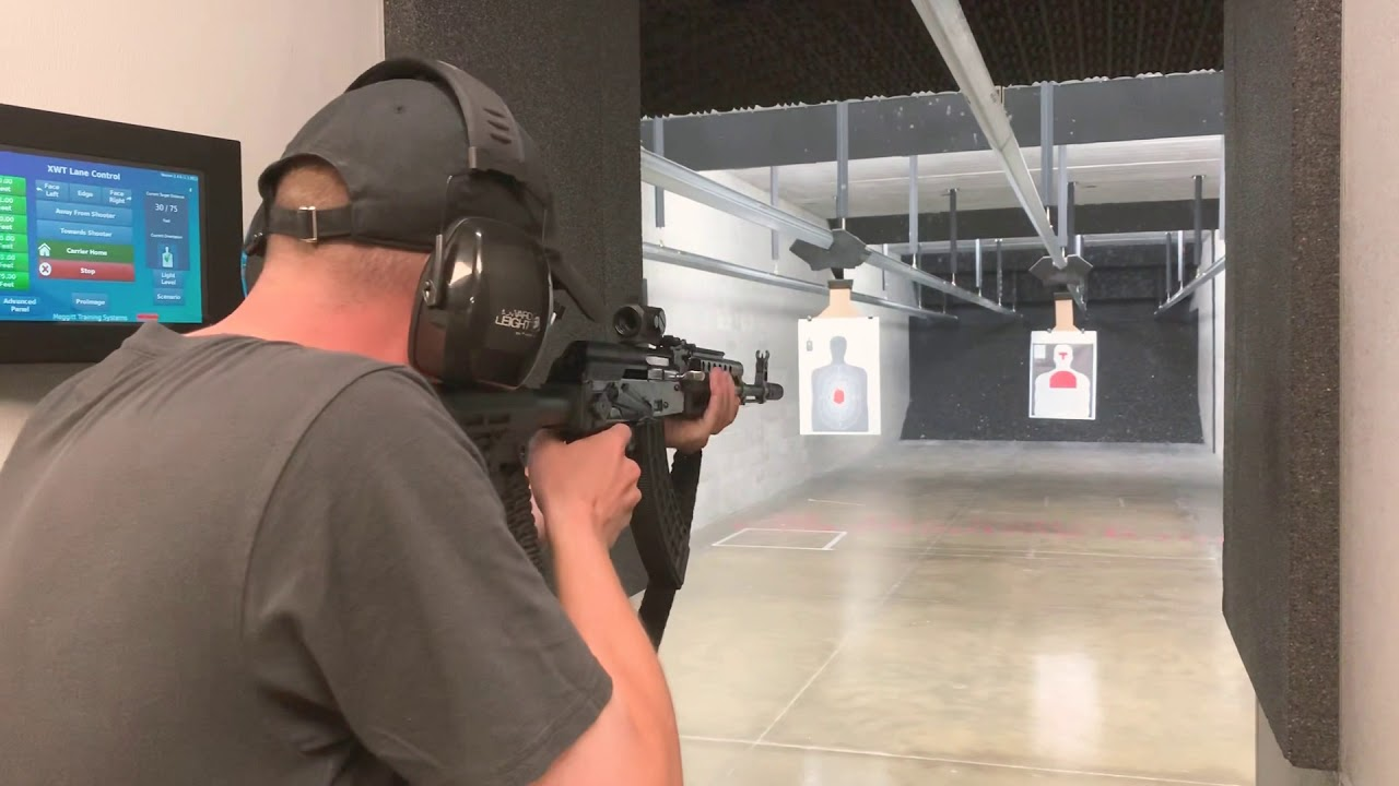 Range time with the Black Op Tactical AKM