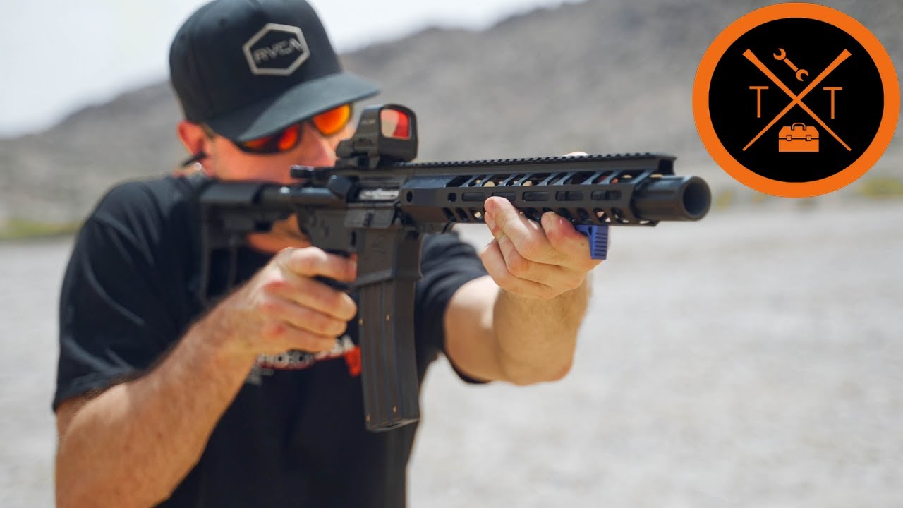 Shooting 4 CALIBERS from 1 AR-15?? | MIND BLOWN (w/Links)