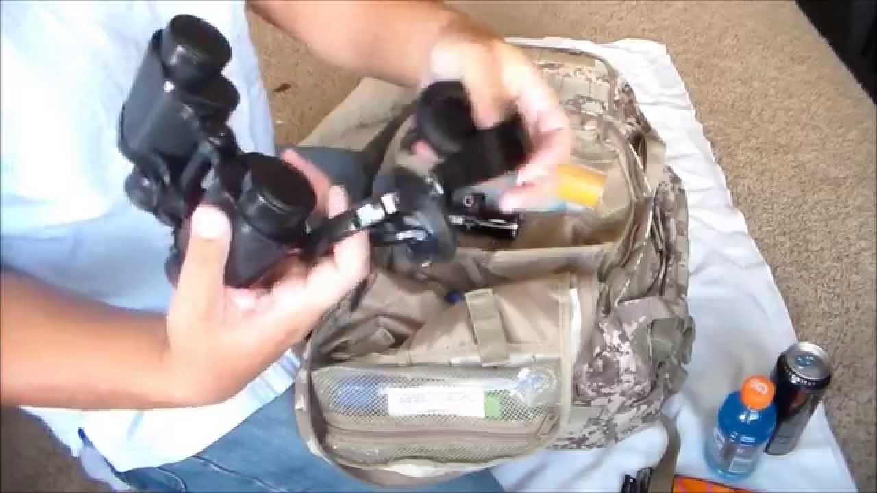 MY SURVIVAL BUG OUT BAG 2014