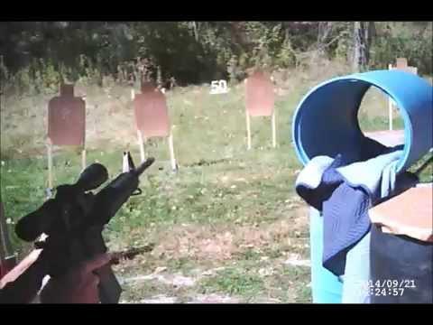 Appanoose County Shooting Club 3-gun match 09/21/14 Brad Stage 2