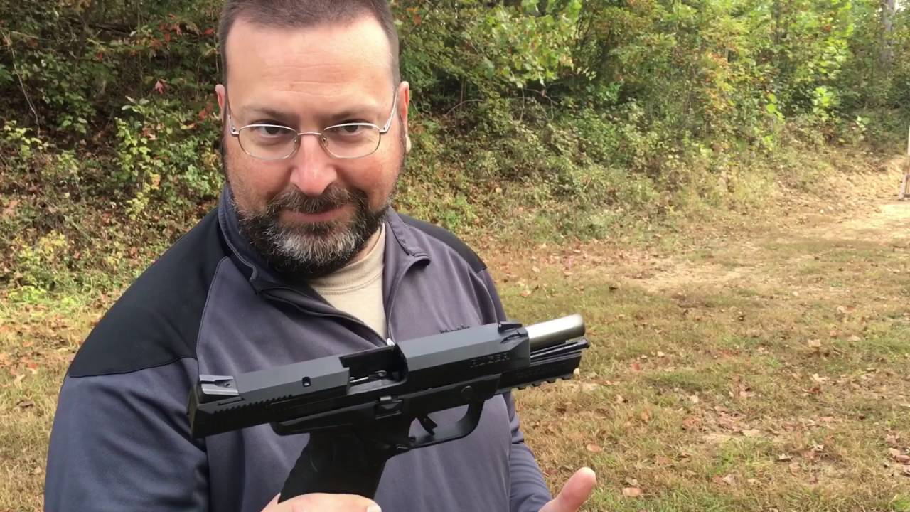 Shooting the Ruger American Pistol in 45 ACP