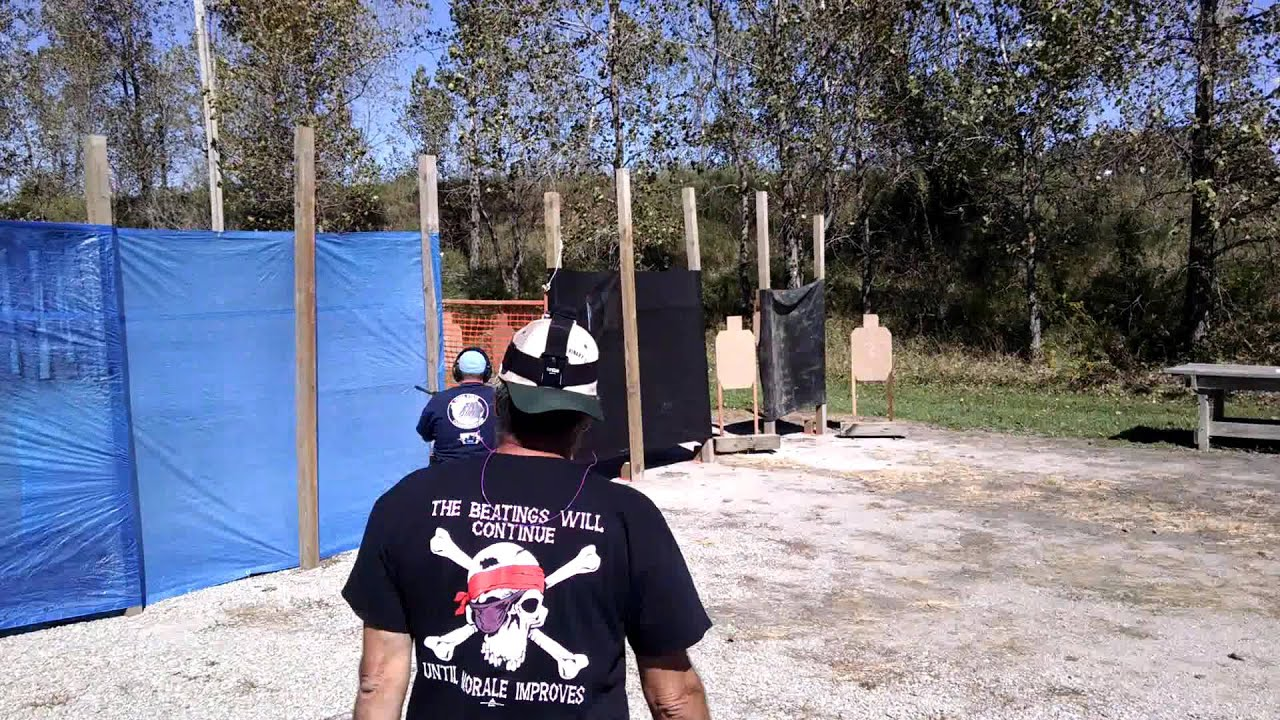 Appanoose County IDPA 3-Gun 2015-09-20 Stage 2 Billy W