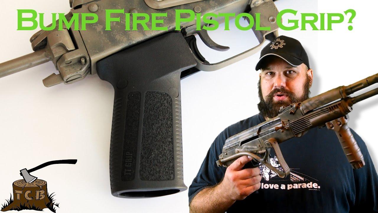 JT bump fire pistol grip ***DEMONETIZED***