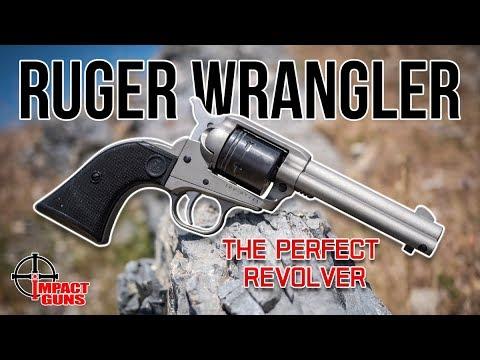 Ruger Wrangler Single Action .22 LR Revolver Review & Range Test