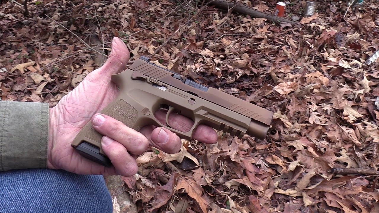 SIG M17 Close-up