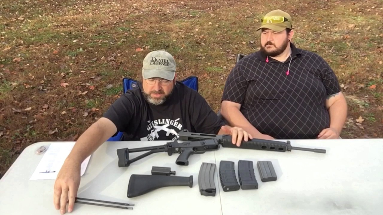 Armalite AR 180B Overview and Test Shots