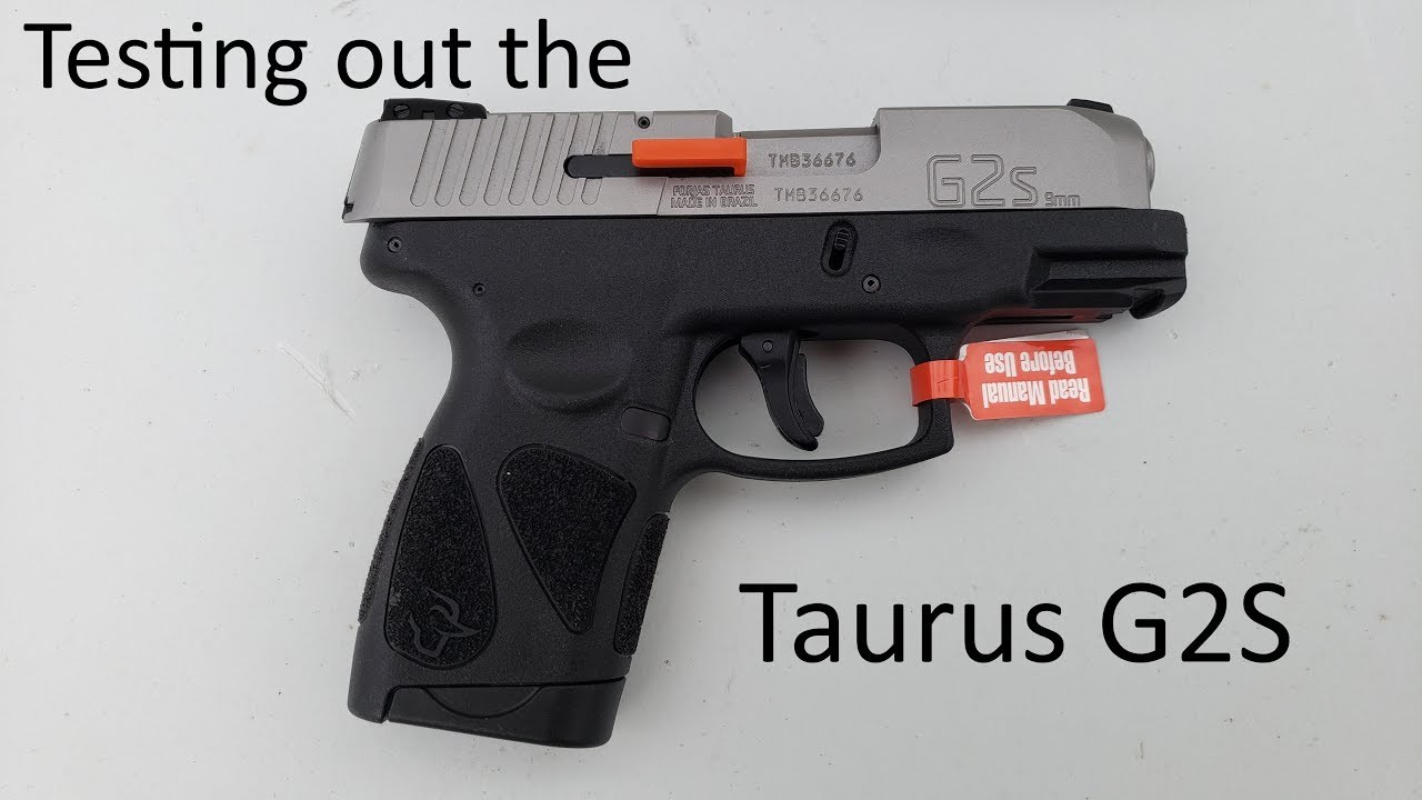 Trying out the Taurus G2S