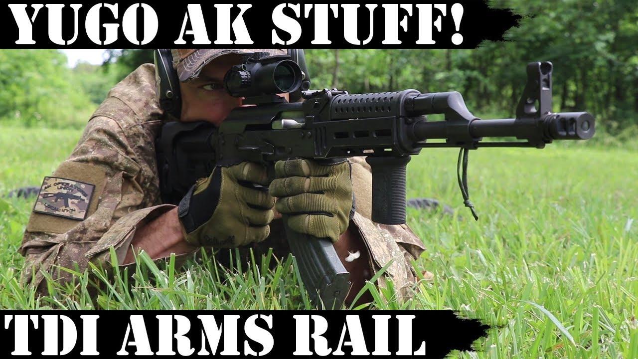 Yugo AK stuff: TDI Arms Rail!