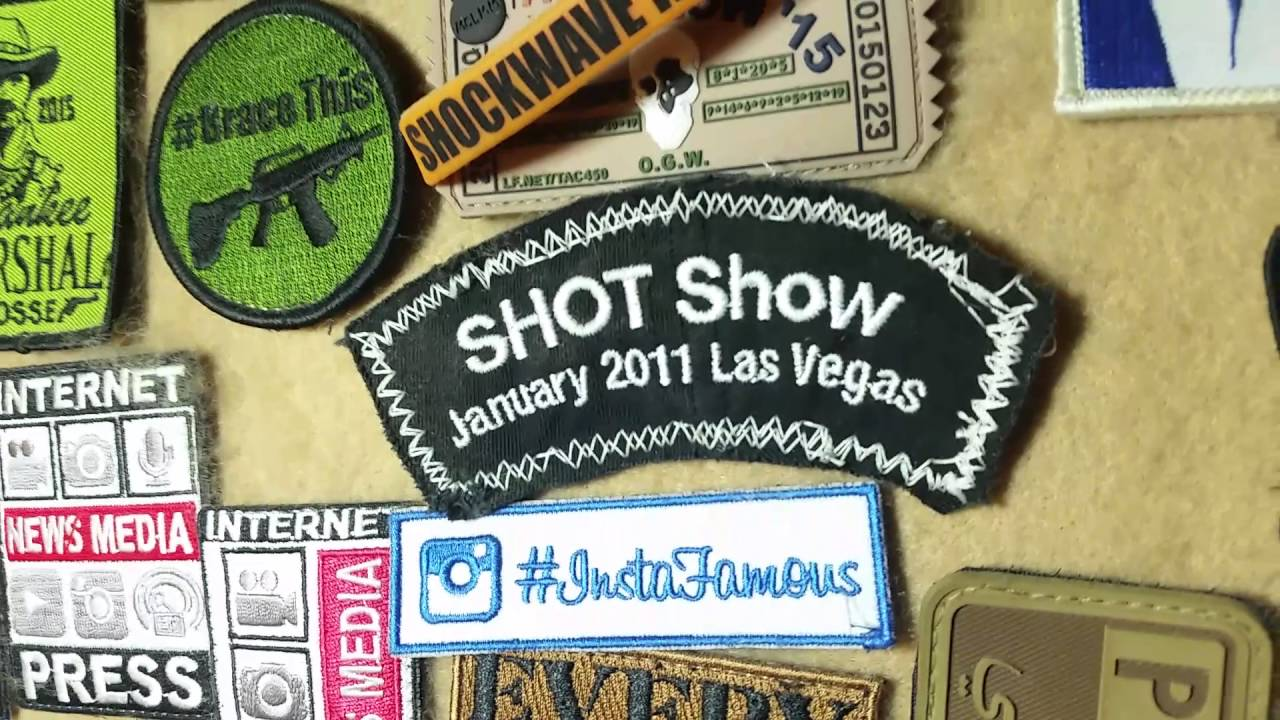 Shot Show 2011 - Patch of the Day