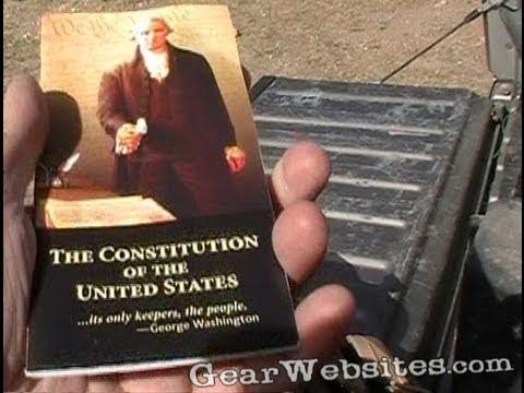 Pocket  U.S. Constitution & Amendments