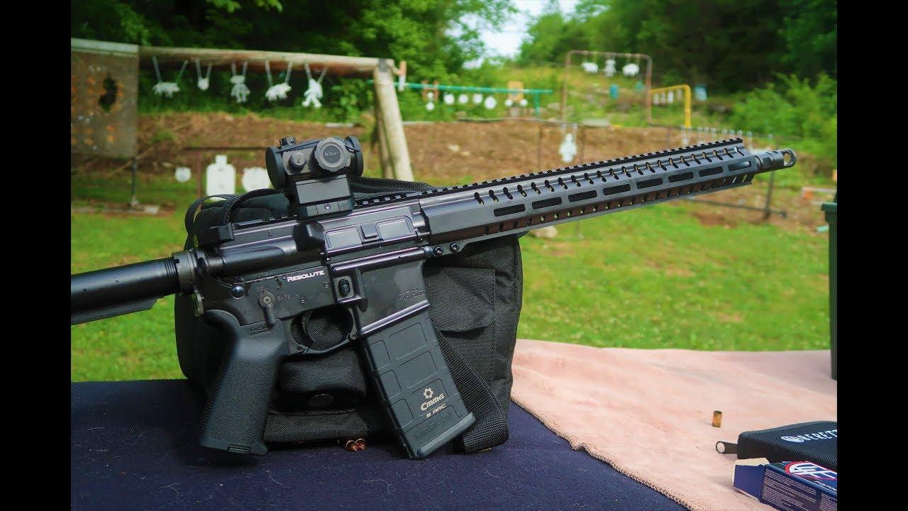 Steel Practice - 9mm AR15