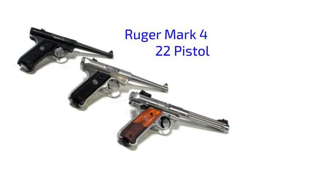 Ruger Mark IV 22LR
