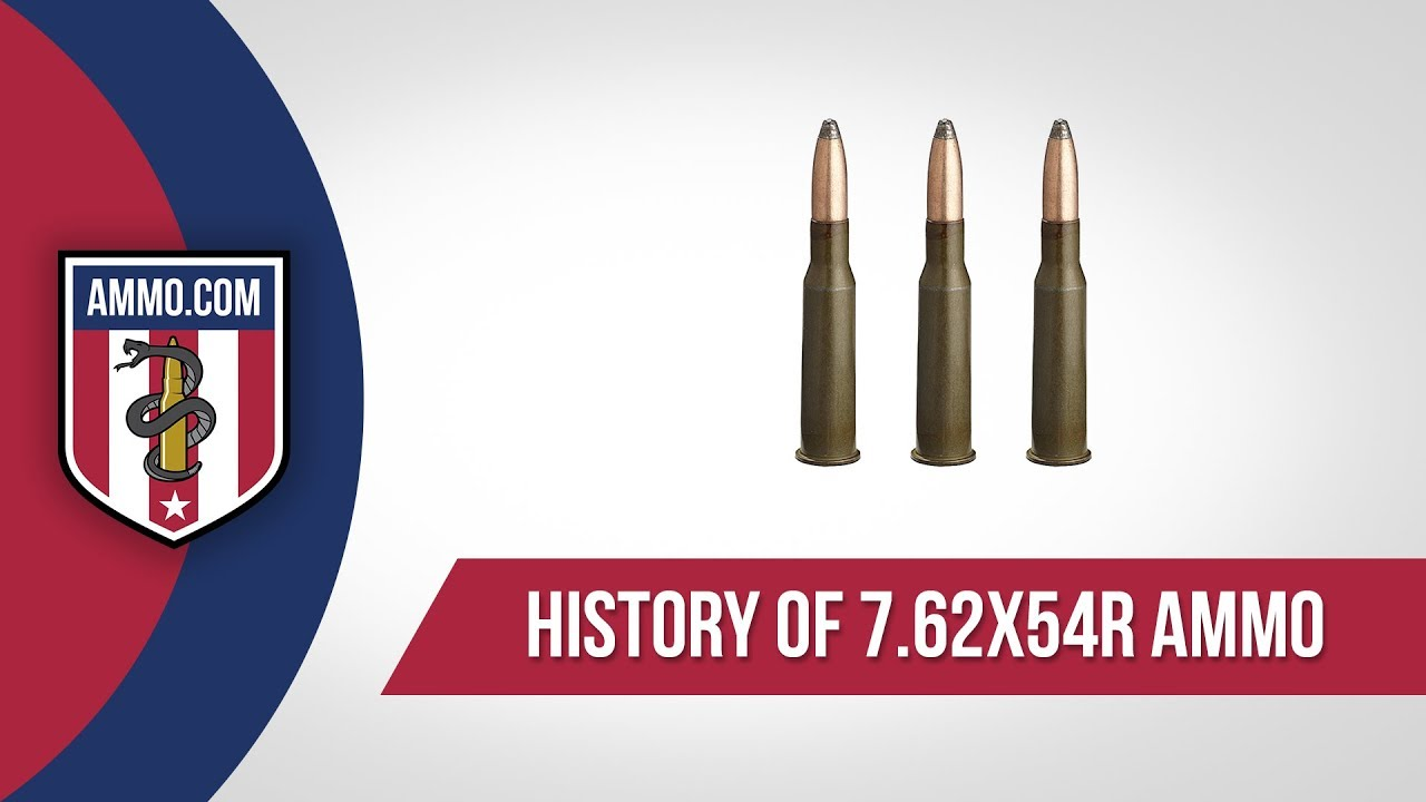 7.62x54r Ammo - History