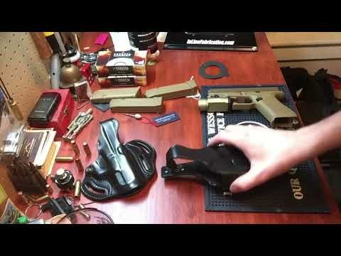 Review of the Galco Halo belt holster featuring Glock 19x with streamlight tlr1 hl