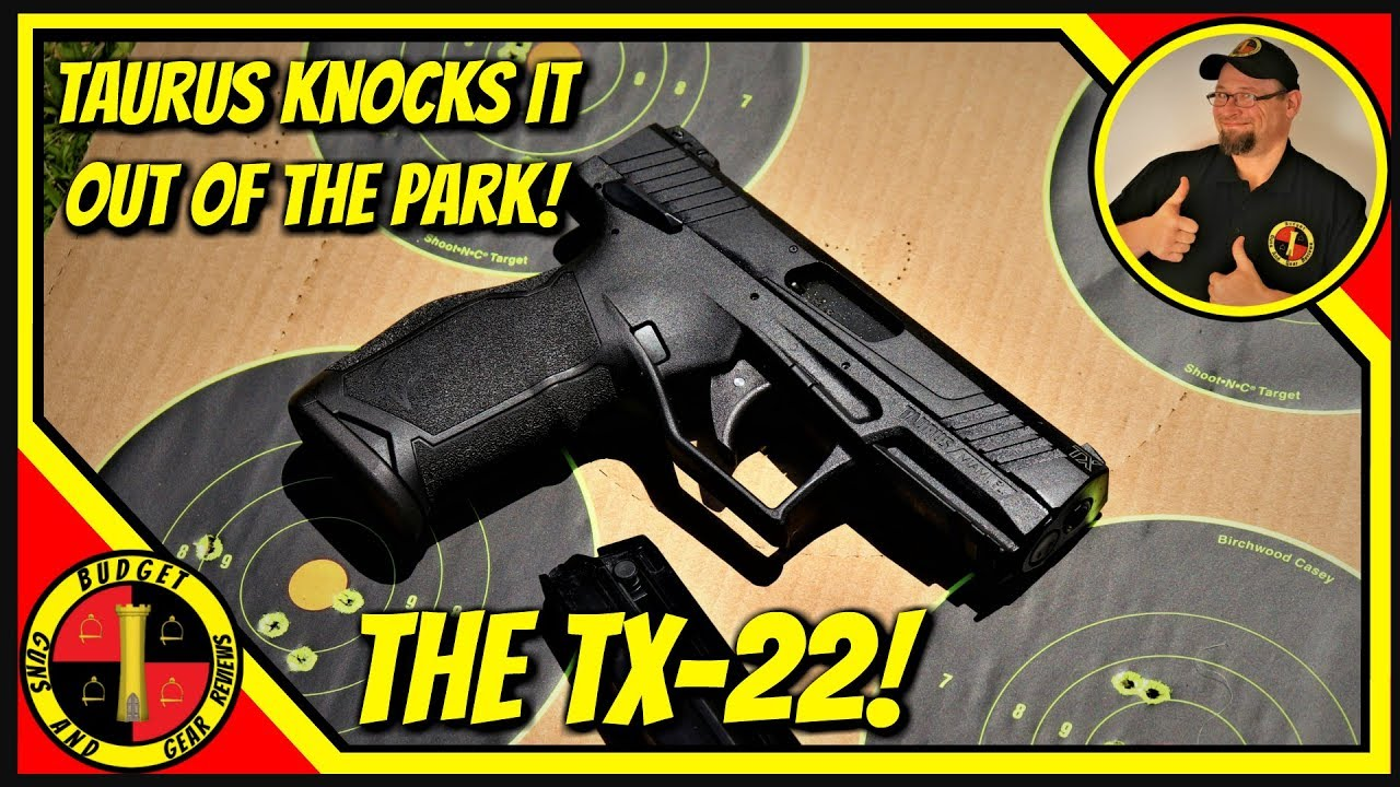 Taurus Tx22 22lr Review- Neutered Youtube Version