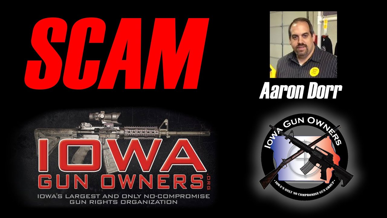 Rep. Matt Windschitl Exposes Fake Pro-Gun Scam in Iowa