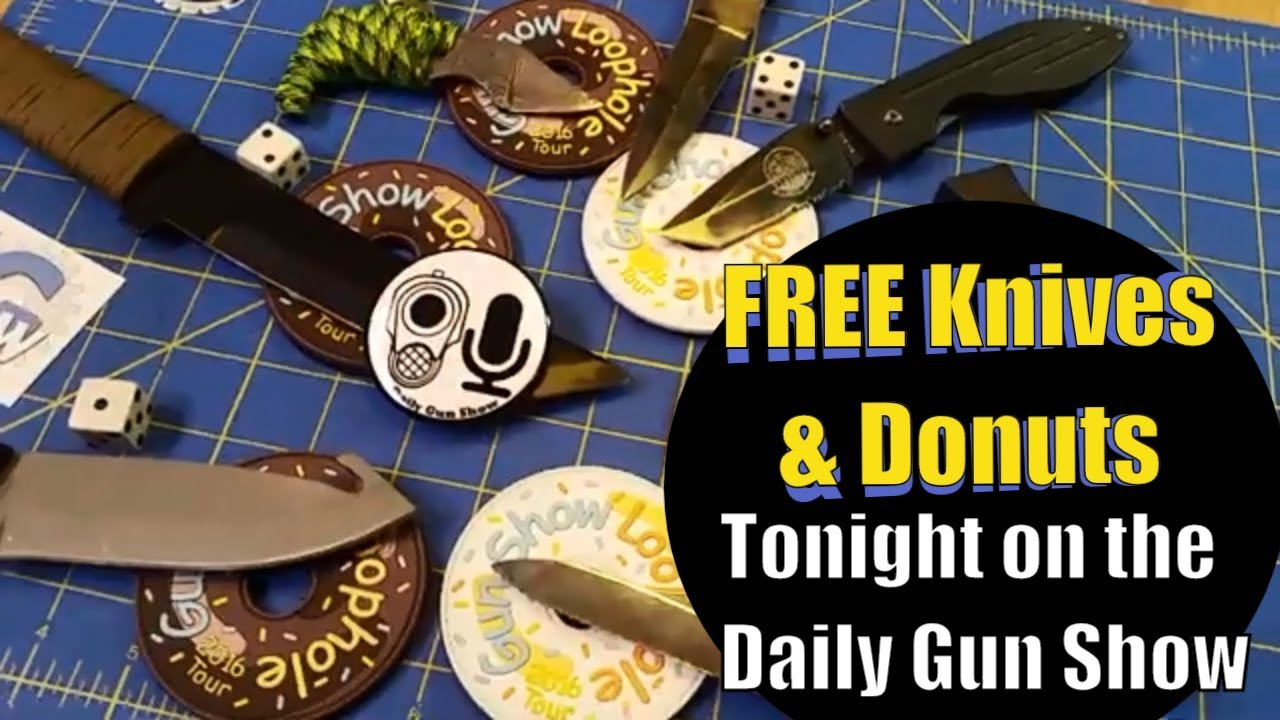 FREE Knives and Donuts - FREE Patch Friday & Free Donuts & Free Knives