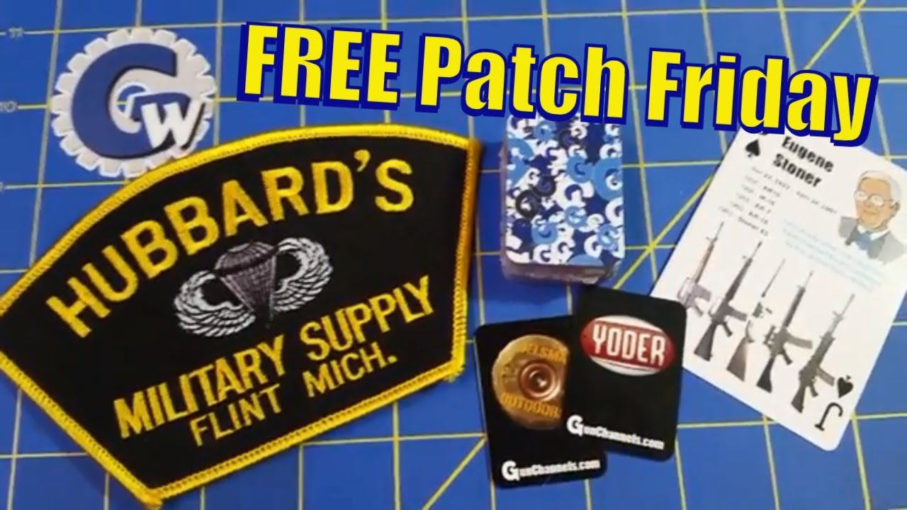 FREE Patch Friday - Ghost Tactical