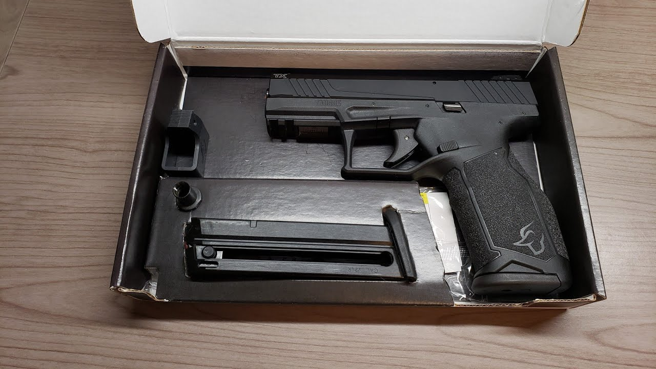 Taurus TX22 Unboxing and First Thoughts