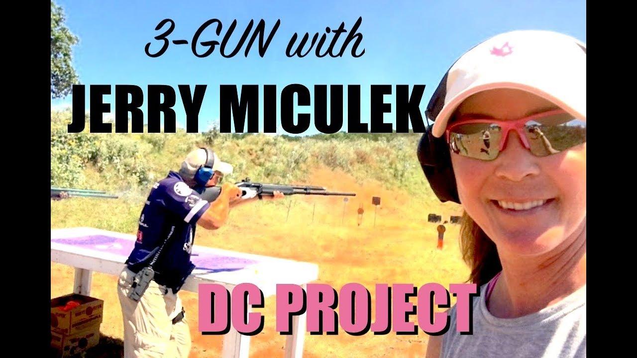 Jerry Miculek - DC Project 3-Gun Team Match - ARMED and Feminine