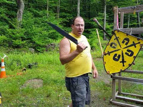 Winkerhau use in sword and shield combat