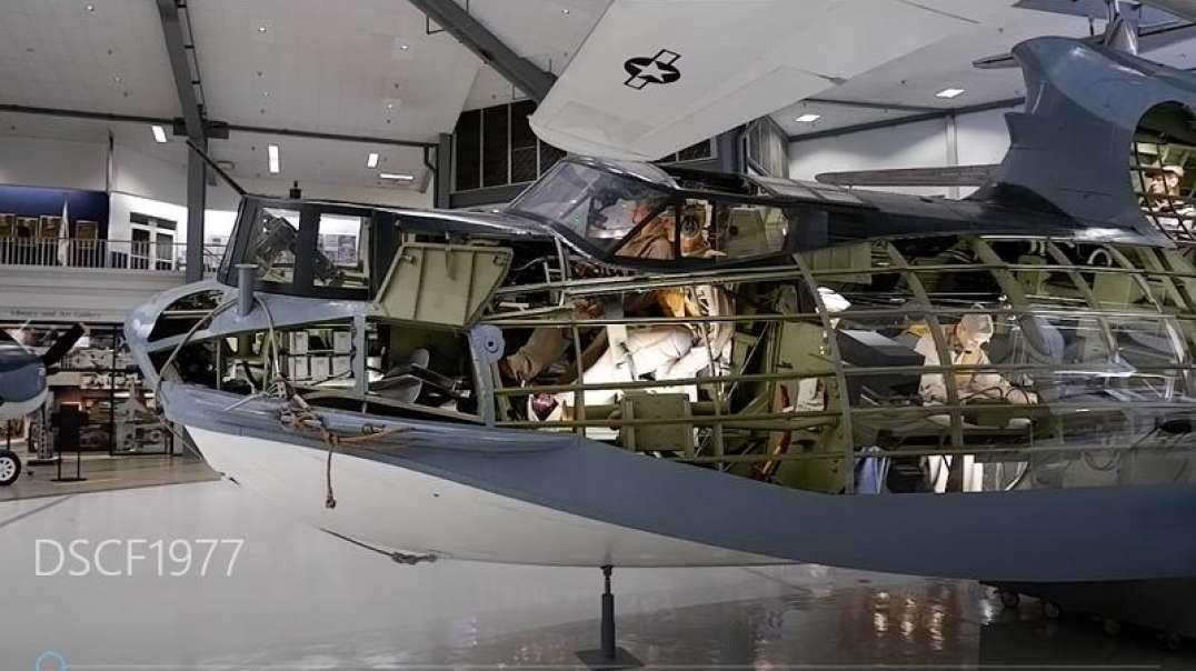 Naval Aviation Museum - Pensacola, Florida - PBY Catalina cutaway