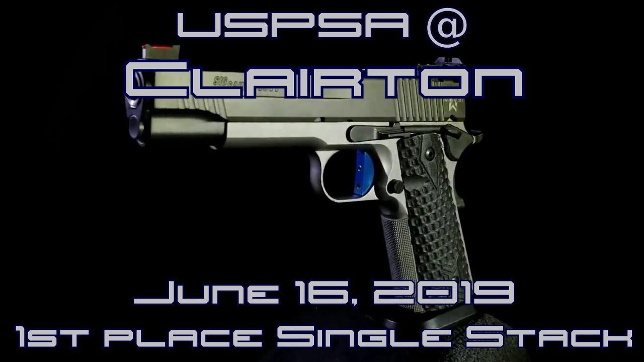 USPSA @ Clairton - June 16, 2019 - Single Stack