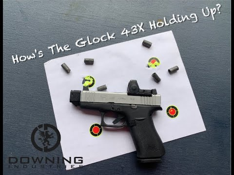Glock 43X accuracy 6-22-19