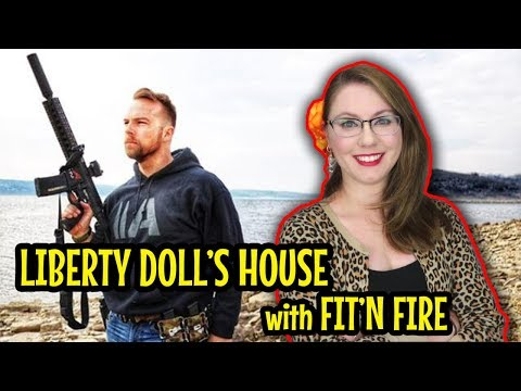 Liberty Doll's House with Fit'n Fire!