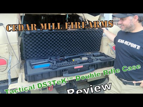 Cedar Mill Tactical DS3TeK™ Double Rifle Case Review