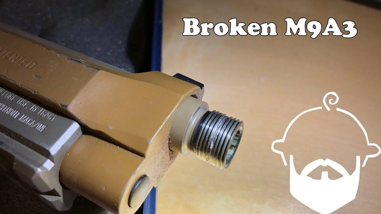 Broken Threads on my M9A3