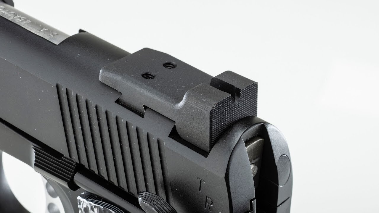 Replacing Sights on the Springfield Armory TRP Operator Tactical .45 ACP #603