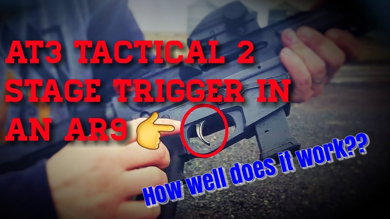 Best affordable AR upgrade 2 stage trigger from AT3 Tactical