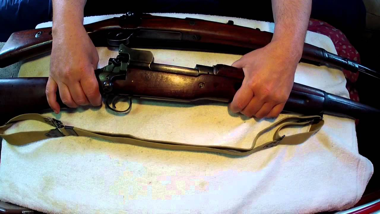 Mauser Comparison - K98K to Model 1917