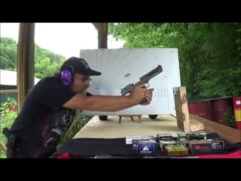 Recoil Test Part 1  Calibers