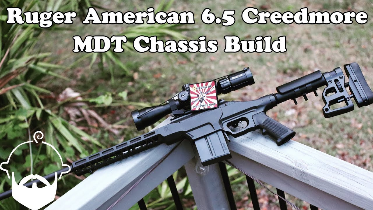 Ruger American MDT Chassis Build