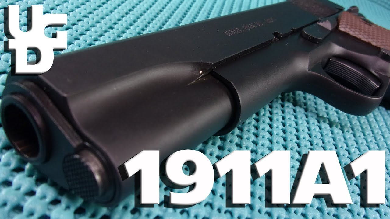 Auto Ordnance 1911 A1 1st Look Review, Kahr, Thompson so many Names