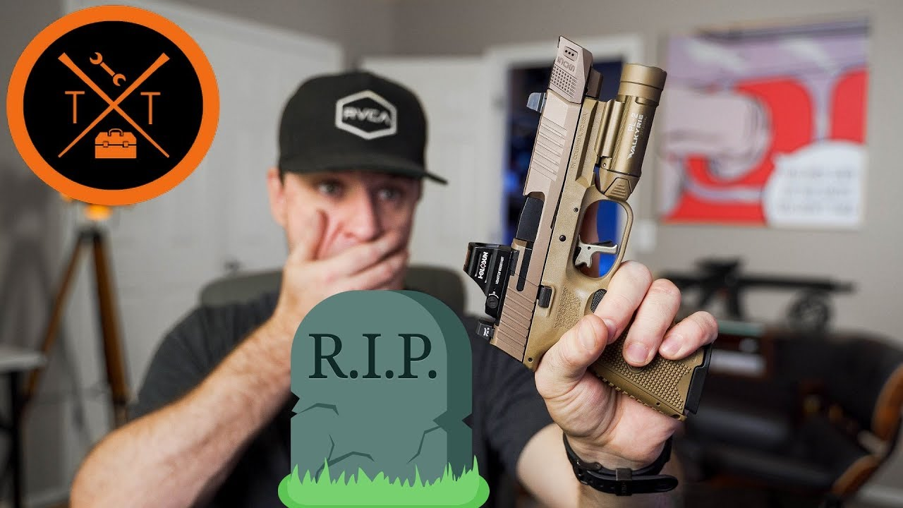 IT DIED!! FN 509 Tactical....🙁