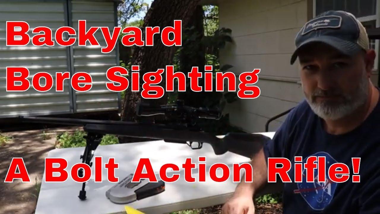 Backyard DIY Bore Sighting!