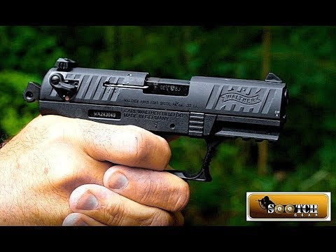 New Walther P22  22 LR Pistol