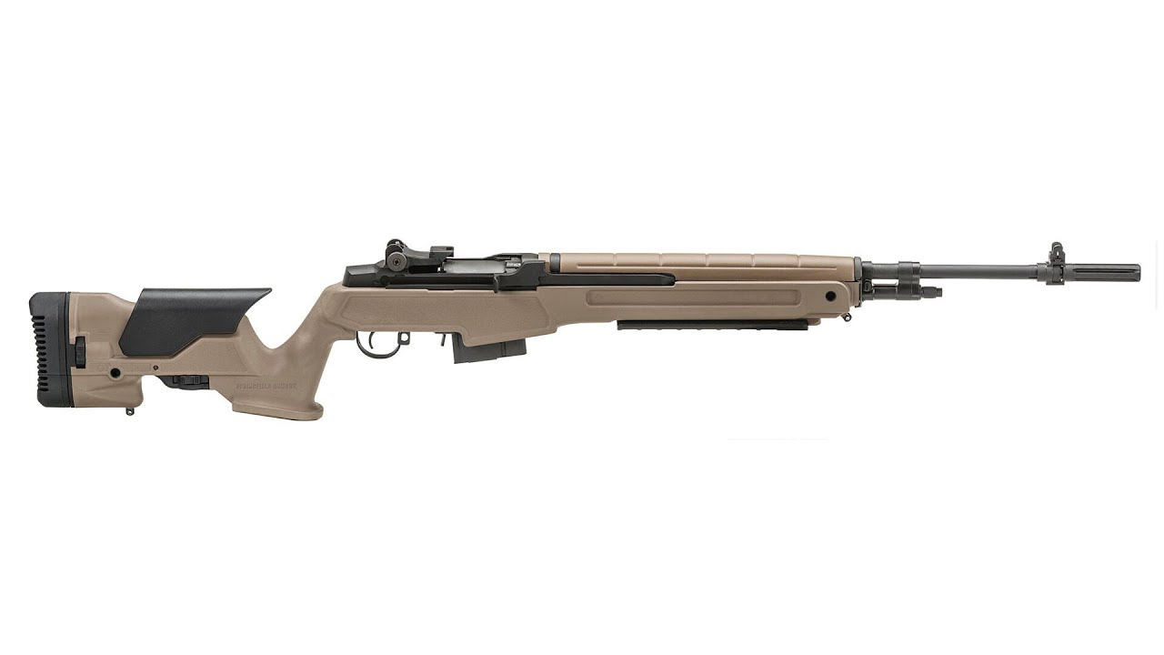 Springfield Armory M1A Scout Squad Rifle with the Archangel Stock Range Test