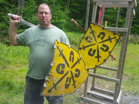 Lignitzer's sword and buckler #4 applied to Shield combat