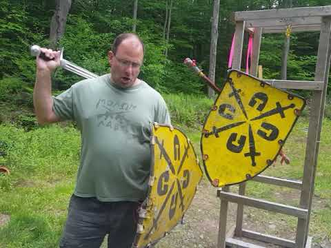Lignitzer's sword and buckler #1 applied to Shield combat