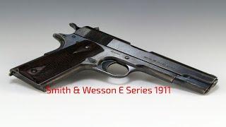 Smith & Wesson E Series 1911