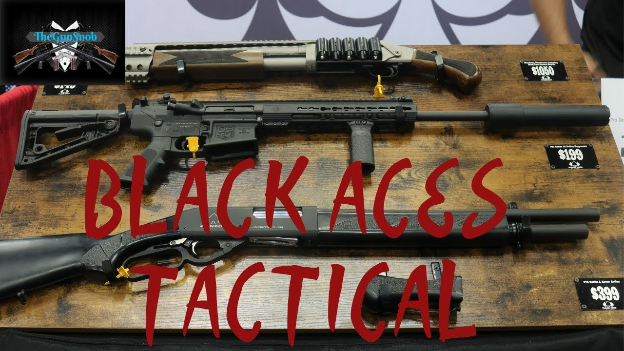 Black Aces Tactical from NRAAM 2019