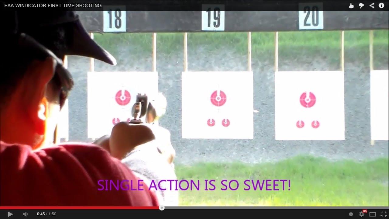 EAA WINDICATOR FIRST TIME SHOOTING