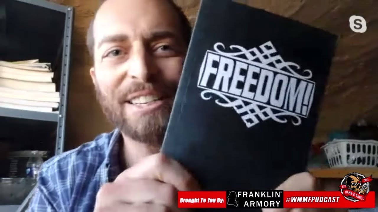 Podcast #395 Who Is Adam Kokesh? Libertarian Running For President 2020 Hank Strange WMMF Podcast