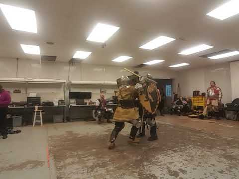 Sword and Shield Fighting- 5/30/19 - #5